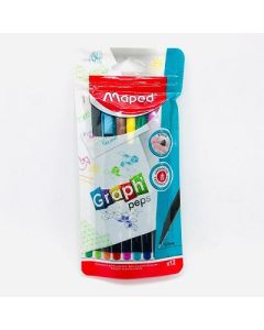 MARCADOR MAPED GRAPH PEPS DOY PACK X12
