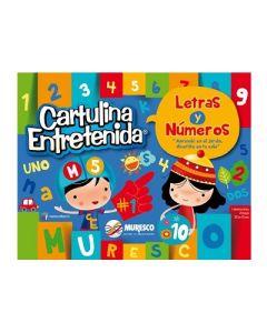 BLOCK MURESCO CARTULINA ENTRETENIDA LETRAS Y NUMEROS 20H