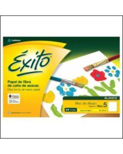 BLOCK DIBUJO EXITO Nº5 BLANCO 24H