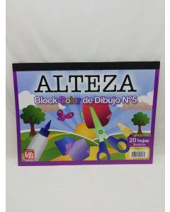 BLOCK DIBUJO ALTEZA 20H.COLOR
