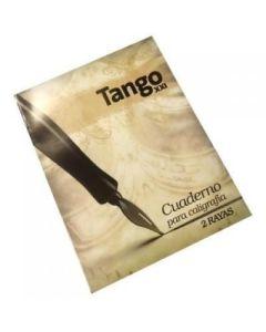 CUADERNO 16X21 TRIUNFO/TANGO DE CALIGRAFIA X 24 HOJAS