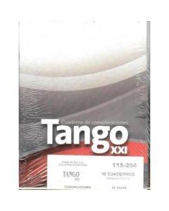 CUADERNO TANGO XXI DE COMUNICACIONES X 24 HOJAS
