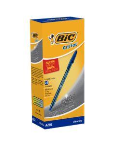 BOLIGRAFO BIC CRISTAL PRECISION SUAVE SURTIDOS CLASICOS X25 0.7MM