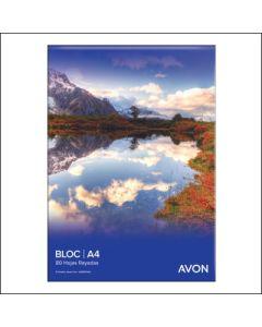 BLOCK AVON A4 80H.RAYADO