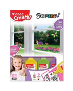 SET DIDACTICO MAPED STICKERS NENA
