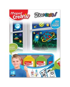 SET DIDACTICO MAPED STICKERS NENE