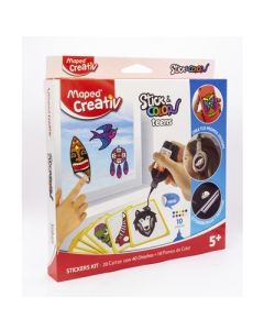 SET DIDACTICO MAPED STICKERS TEENS