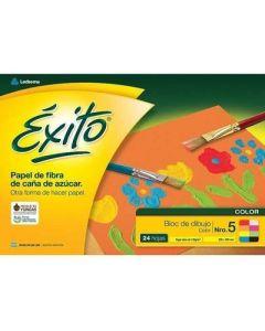 BLOCK DIBUJO EXITO Nº5 COLOR 24H