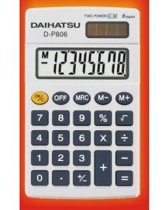 CALCULADORA DAIHATSU P806 8DIG. 103X62