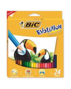 LAPICES COLOR BIC EVOLUTION X24L